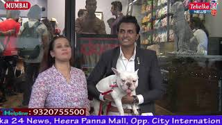 """""""DOGS & MORE"""" Magazine Cover Launch Featuring Sandip Soparrkar & His Dog Zorba"""