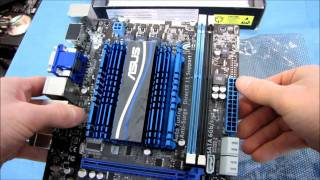ASUS E35M1-M E-350 AMD Fusion mATX Motherboard Unboxing & First Look Linus Tech Tips