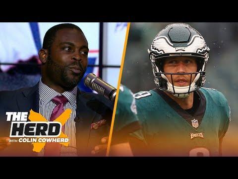 Michael Vick on Nick Foles' impact for Eagles, talks Lamar Jackson's success & more | NFL | THE HERD