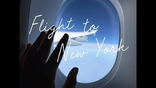 #10 FLIGHT TO NEW YORK | Auslandsjahr USA 2018/19