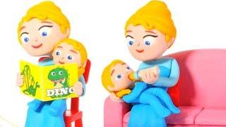 BABY PRINCESS NEEDS HER SLEEP ❤ Superhero Babies Play Doh Cartoons For Kids