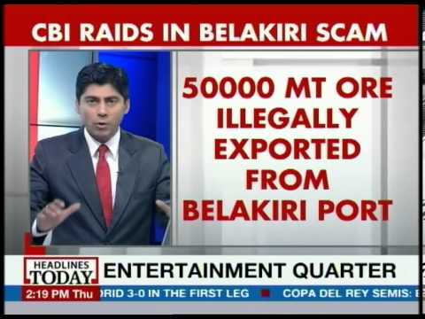 The Illegal export of 50000 metric tons of iron ore from the Belakiri port is the centre of the scam which was targetted by the CBI which raided 19 locations across the country including Bengaluru,...