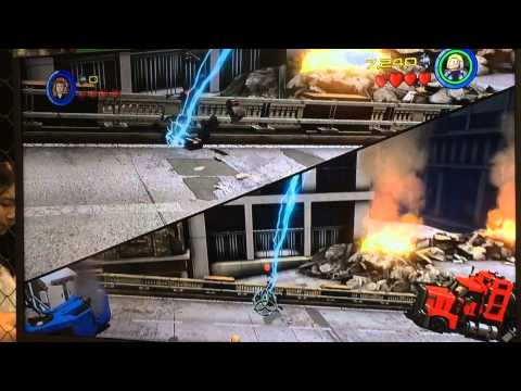 Lego Avengers The Game