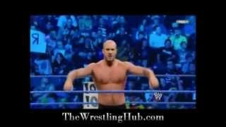 Antonio Cesaro Debut on WWE Smackdown vs Tyson Kidd