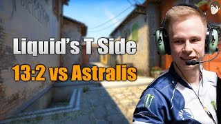 How Liquid Won 13 T Rounds against Astralis on Inferno (Faceit Major)
