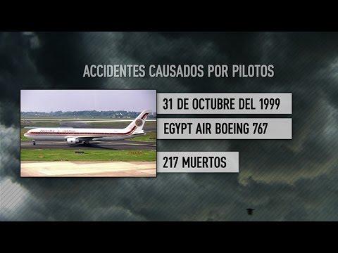 Estos son algunos casos de 'pilotos suicida' de la historia