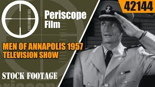 """MEN OF ANNAPOLIS 1957 TELEVISION SHOW """"THE LOOK ALIKE"""" EPISODE 42144"""