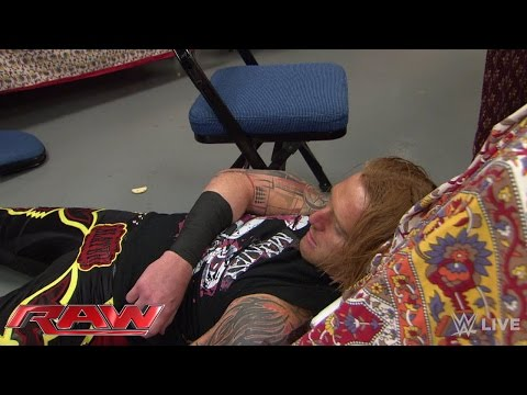 Heath Slater Eats An Rko In Catering: Raw, April 20, 2015 video