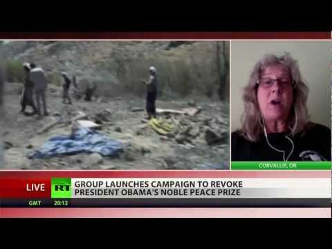 Activist demand Obama Nobel Peace Prize be revoked