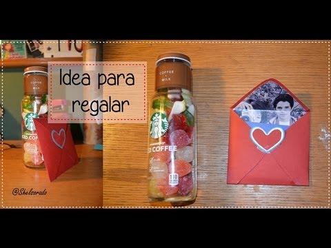 Como hacer regalo para novio ideas para regalar diy - Ideas para regalar en san valentin ...