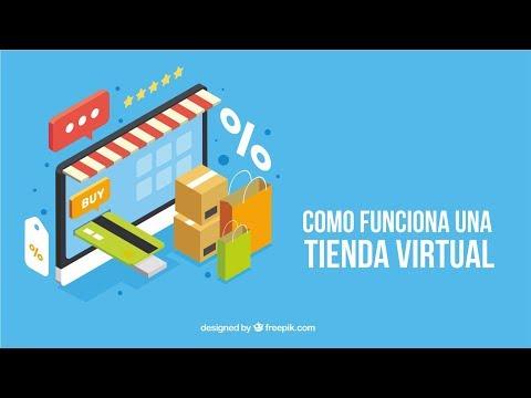 Que es y como funciona una tienda virtual