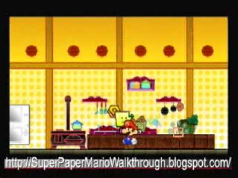 Super Paper Mario Walkthrough - Heart Pillar 1