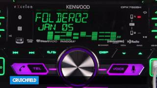 Kenwood Excelon DPX792BH Display and Controls Demo | Crutchfield Video