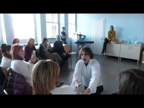 St.Art! – 12 febbraio 2014 – Istituto Naz Tumori Milano – Con Elena Santarelli e Loris Fabiani