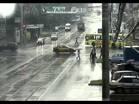 «Бешеный» трамвай в Перми