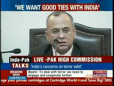 News Package - Pakistan India Talks