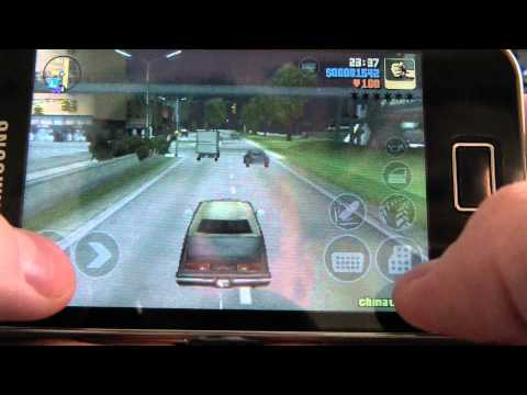 GTA III на Samsung Galaxy Ace [Android 2.3]