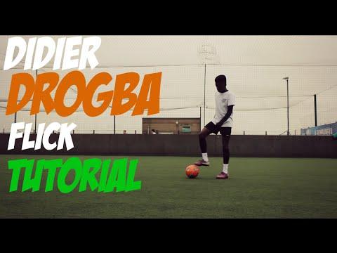 Didier Drogba Flick Tutorial [HD] - GTTekkerz