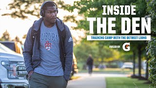 Lions' Players Report to Training Camp | Inside the Den | Season 5, Episode 1