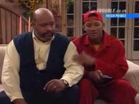 Funny Scene From Fresh Prince Of Bel-Air
