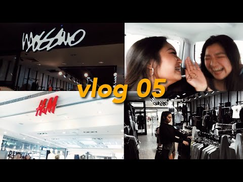 VLOG 05 : shopping w/ the bff | Ella Gatchalian