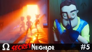 SECRET NEIGHBOR HALLOWEEN UPDATE! | Secret Neighbor #5 Multiplayer W/ Delirious, Ze, & More!