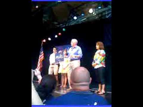 Mike Pence Campaign for Governor Kickoff Rally 6-11-11