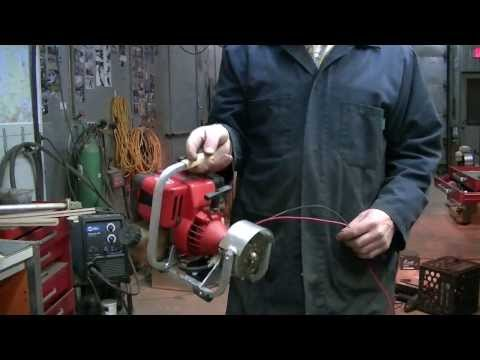 Homemade weedeater 12v mini generator how to save money for Combien coute un drain francais