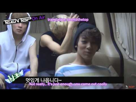061413 (eng sub) Teen Top On Air - In the Car