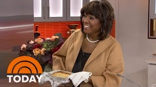 Patti LeBelle Debuts Her Peach Cobbler In A TODAY Food Surprise Appearance | TODAY