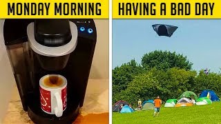 Hilarious Examples Of People Having A Bad Day