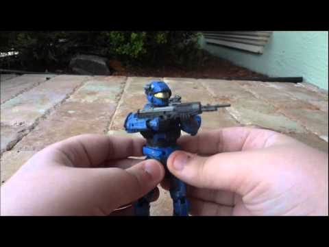 Halo Reach Series 3 Military Police MP Spartan Review