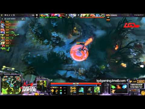Vici Gaming vs Tongfu Game 2 - CDEC New Star Cup - @Gotcowdota & @Toffees_dota2