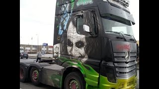 "Mercedes-Benz ACTROS MP4 Euro 6 ""THE JOKER"" Henrik Hansen!!! [HD]"