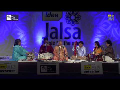 Sangeet Martand Pandit Jasraj LIVE Performance | Om Namo Bhagwate...