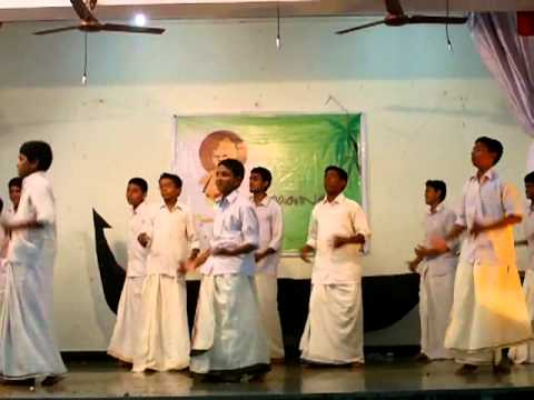 Sebastinites Kalamboli -syro Malabar Parish- Onam Funny Action Song (dance) video