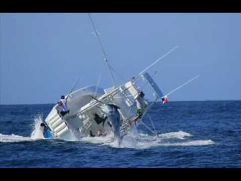 Swordfish sinks fishing boat