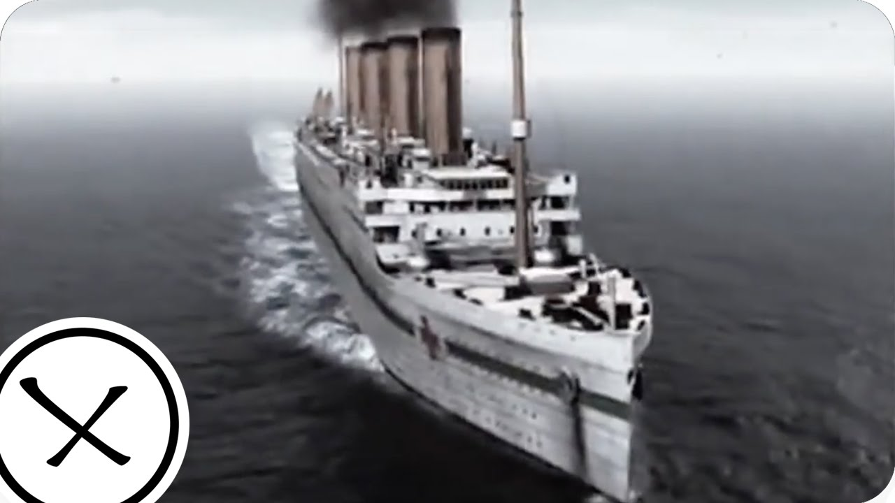 Titanic And Britannic Sinking The Sinking of The Britannic