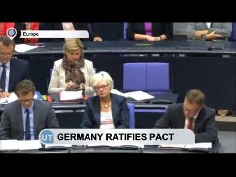 Germany ratifies Ukraine-EU association agreement