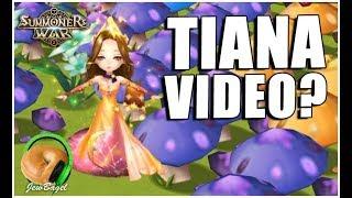 SUMMONERS WAR : TiAnA ViDeO?