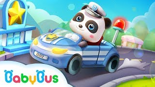 Little Panda Policeman | Gameplay Video | Educational Games for kids | Kids Cartoon | BabyBus