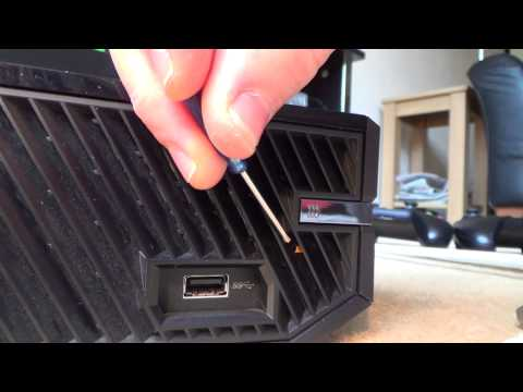 How To Manually EJECT a DISC from your Xbox One console. STUCK DISC FAULT