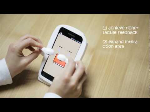 Magnetic Marionette: Magnetically Driven Elastic Controller on Mobile Device