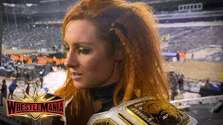 "Becky Lynch is now living proof that ""anything is possible"": WWE Exclusive, April 7, 2019"