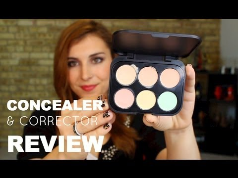 BH 6 Color Concealer & Corrector Palette Review   Bailey B.