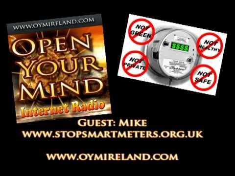 Open Your Mind Internet Radio (OYM) Mike - stopsmartmeters.org.uk - 2nd Sept 2012