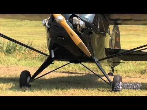 Aero-TV: 'It's My Real Airplane' - Mike Slingluff's 65HP Taylorcraft