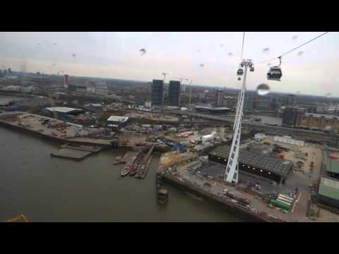 London Emirates cable car ride