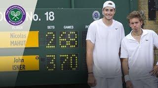 John Isner v Nicolas Mahut | Wimbledon 2010 first round | Extended Highlights