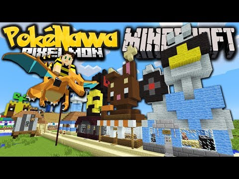 Minecraft Pixelmon: Pokenawa Revived! New Players, New Pokemon Server 2.5.7